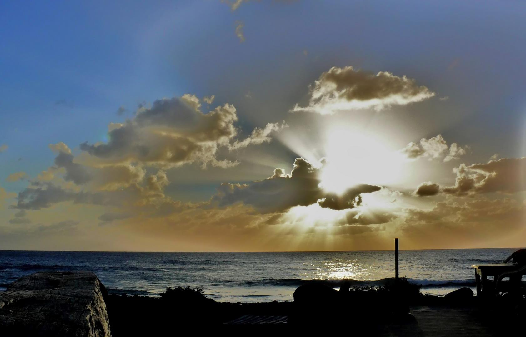 Sonnenuntergang in El Golfo