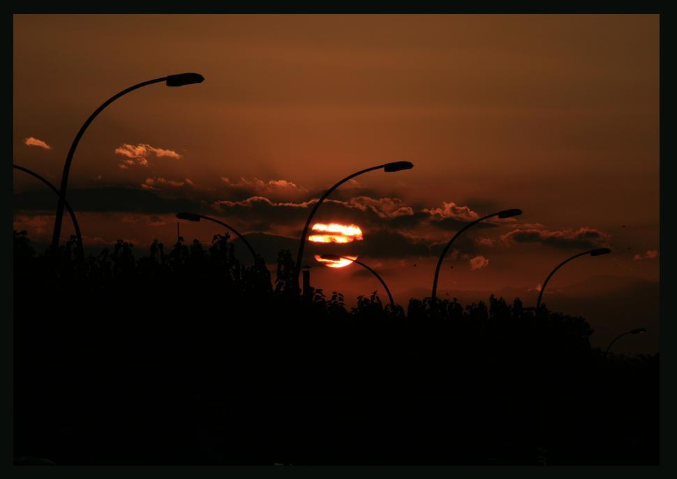 Sonnenuntergang in EmpuriaBrava