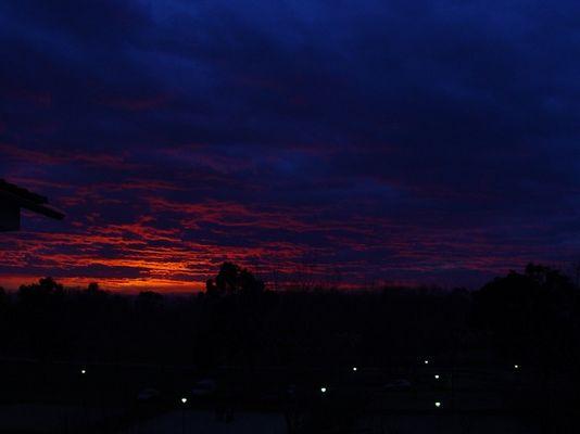 Sonnenuntergang in Empuriabrava / Costabrava