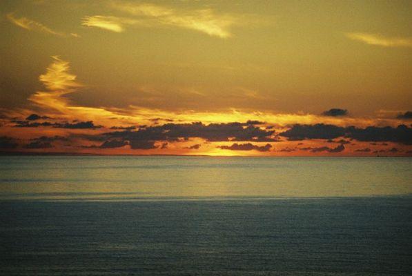 Sonnenuntergang in England........