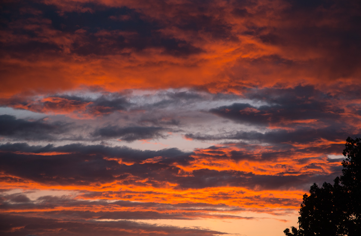 Sonnenuntergang in Erftstadt 2