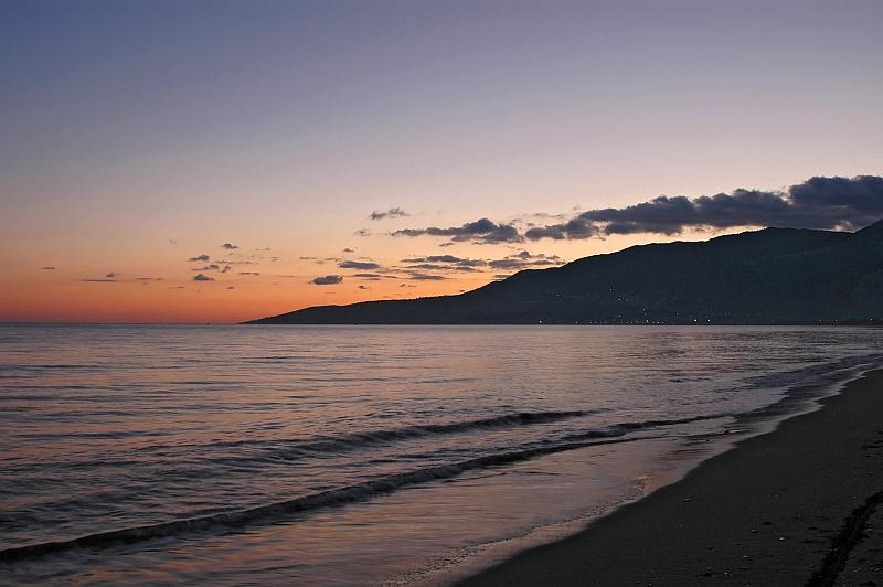 Sonnenuntergang in Fethye