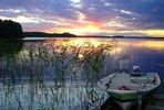 Sonnenuntergang in Finnland 5