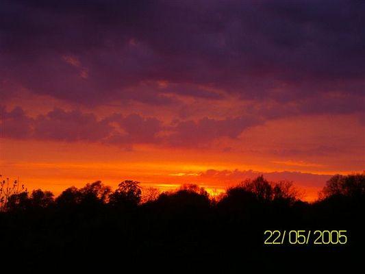 Sonnenuntergang in Flensburg