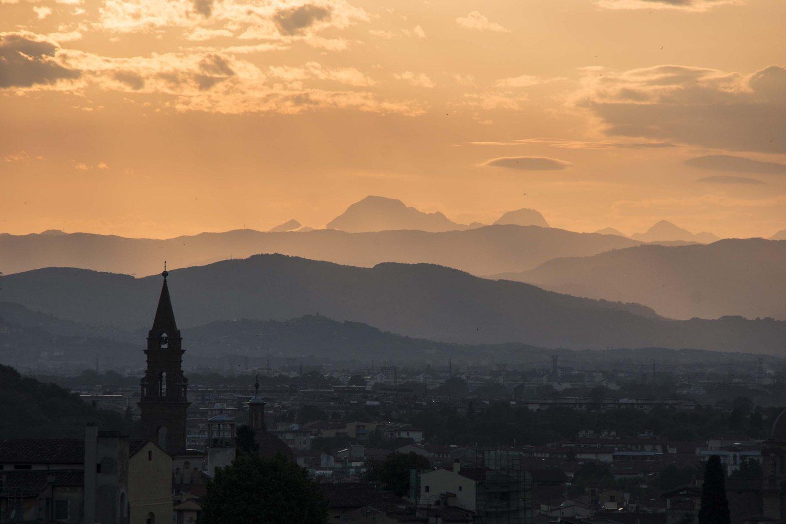 Sonnenuntergang in Florenz 2