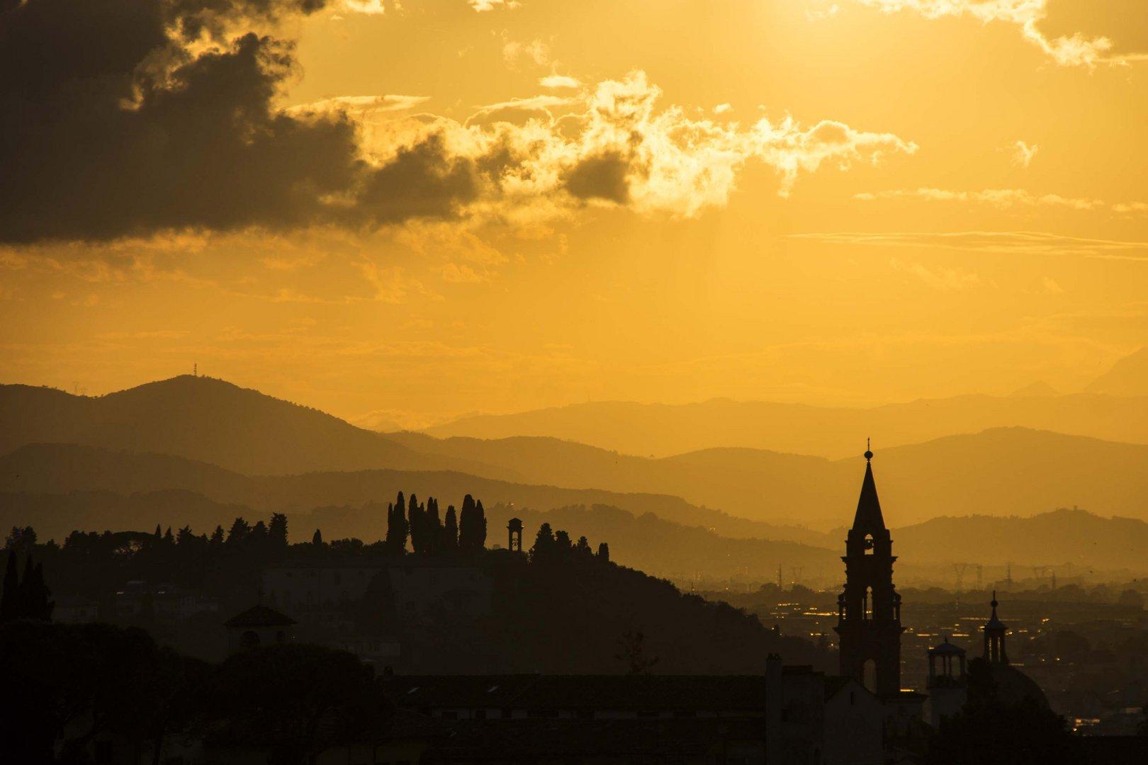 Sonnenuntergang in Florenz 3
