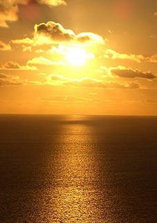 Sonnenuntergang in Gran Canaria