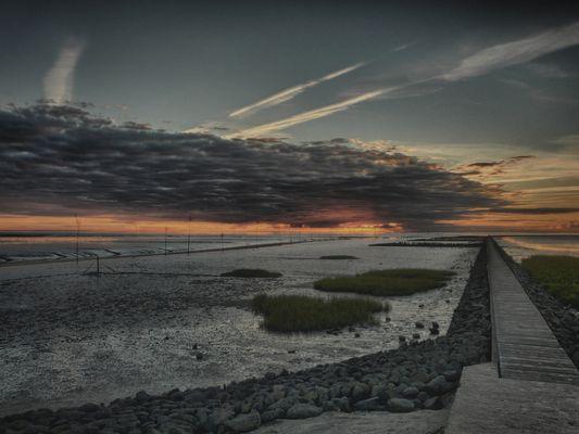 Sonnenuntergang in HDR