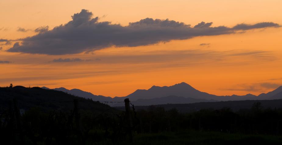 Sonnenuntergang in Herzegowina