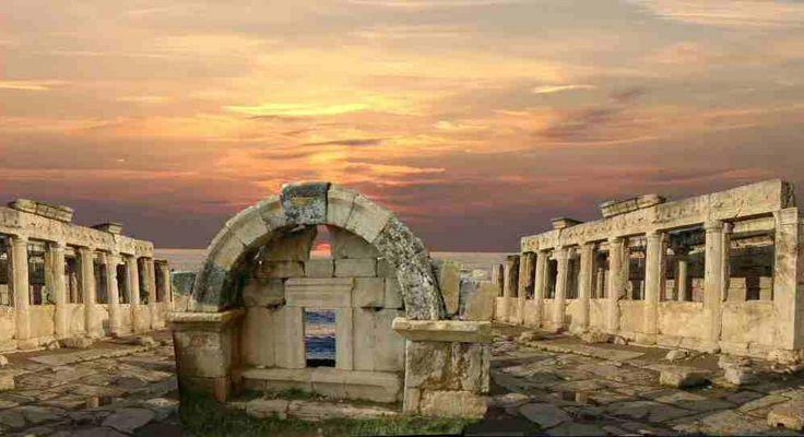 Sonnenuntergang in Hierapolis