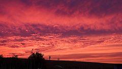 Sonnenuntergang in Hindeloopen