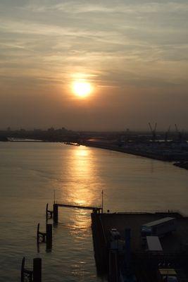 Sonnenuntergang in Hull