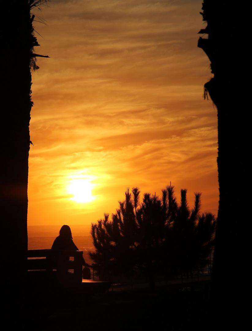 Sonnenuntergang in Incekum ( die 2te)