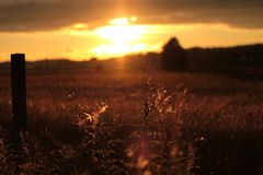 Sonnenuntergang in Järeda