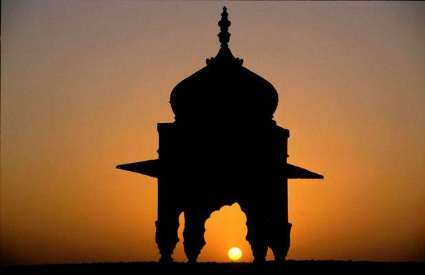 Sonnenuntergang in Jaisalmer