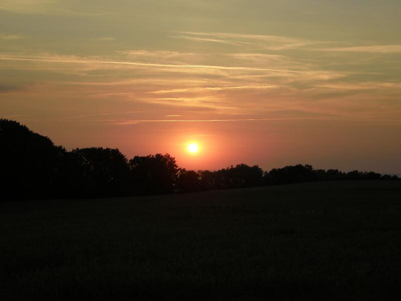 Sonnenuntergang in Käksdorf nähe Kühlungsborn