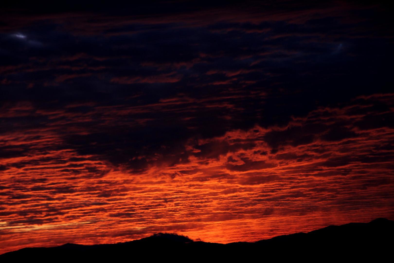 Sonnenuntergang in Kärnten