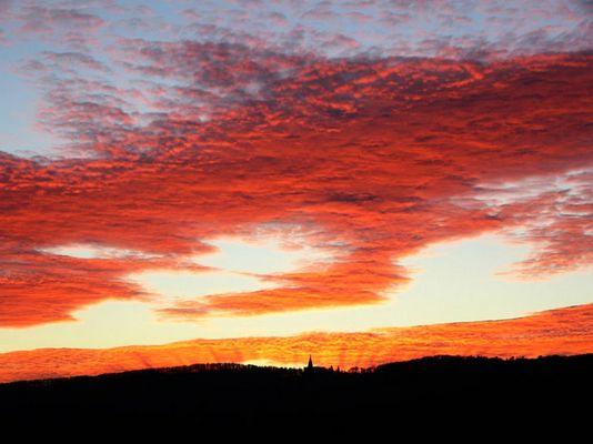 Sonnenuntergang in Kassel