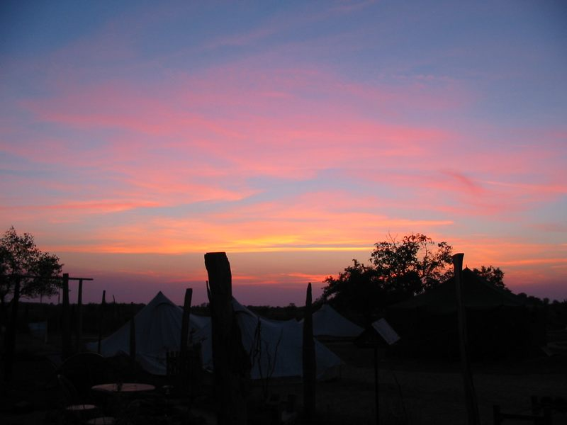 Sonnenuntergang in Kerkuhn