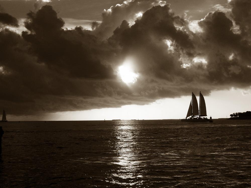 Sonnenuntergang in Key-West