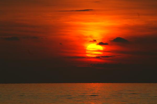 Sonnenuntergang in Key West USA