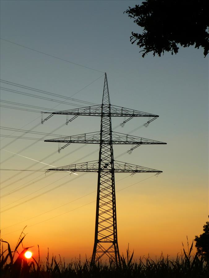 Sonnenuntergang in Köttingen Version 2