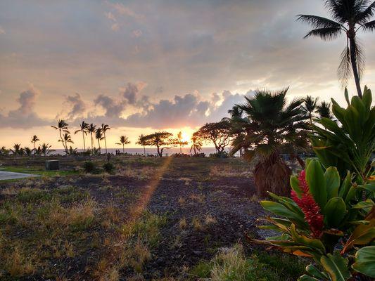 Sonnenuntergang in Kona, Hawaii
