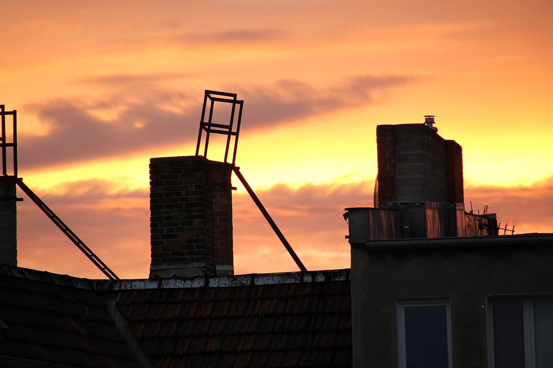Sonnenuntergang in Kreuzberg