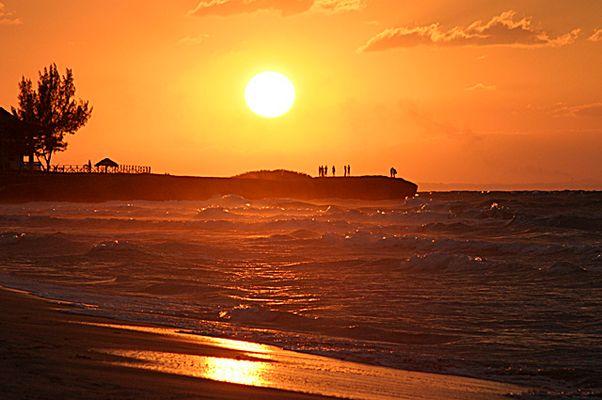 Sonnenuntergang in Kuba (1)