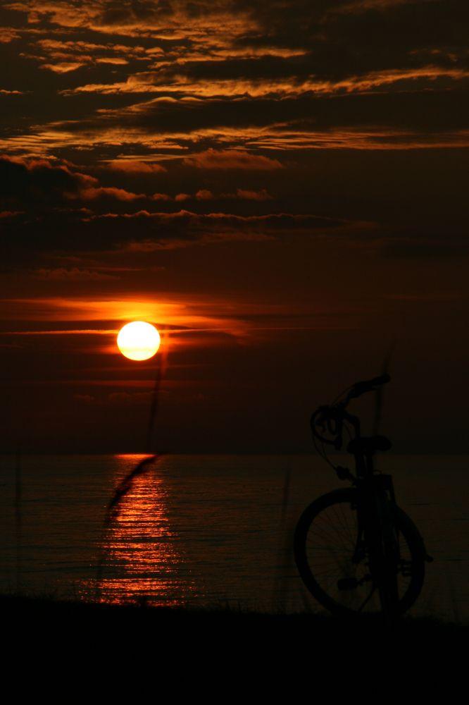 Sonnenuntergang in Kühlungsborn