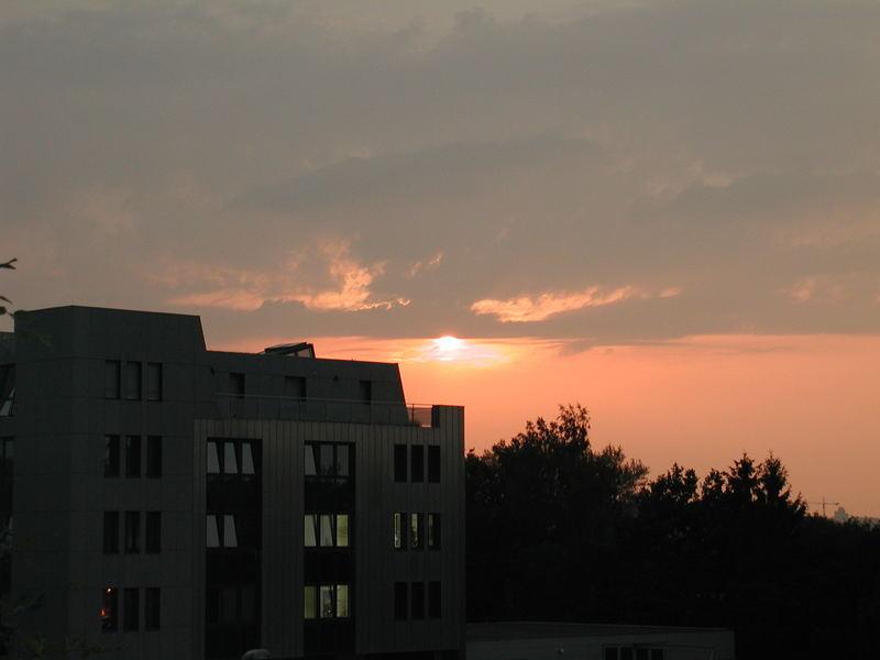 Sonnenuntergang in L- E