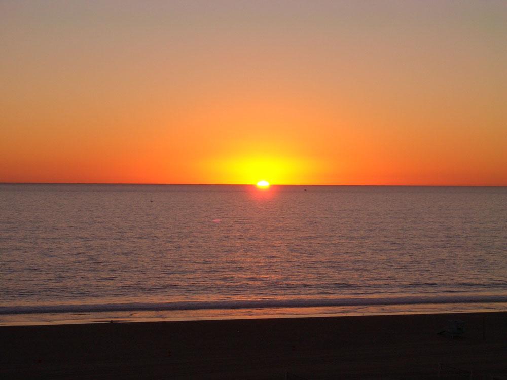 Sonnenuntergang in LA