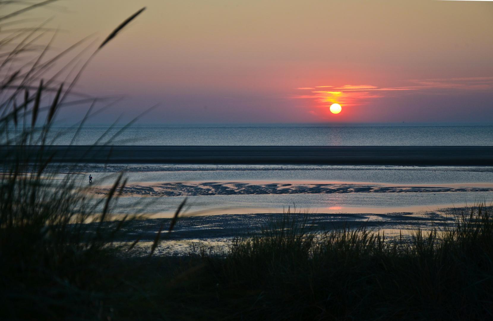 Sonnenuntergang in Langeoog