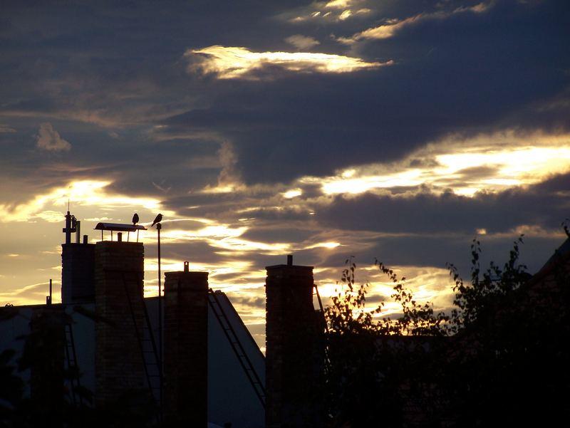 Sonnenuntergang in LE