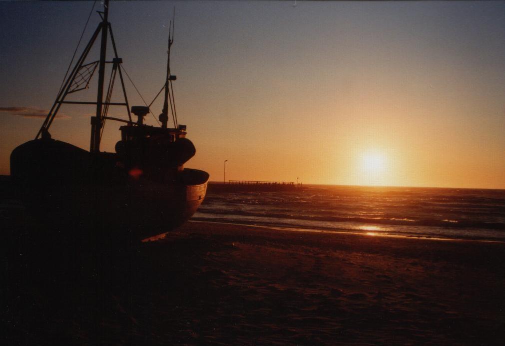 Sonnenuntergang in Lokken