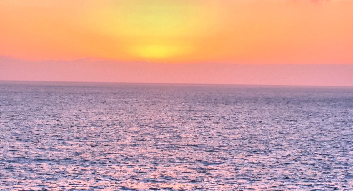 Sonnenuntergang in Los Gigantes