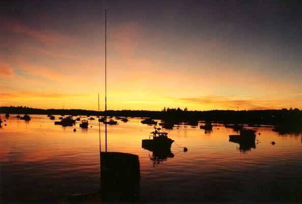 Sonnenuntergang in Maine