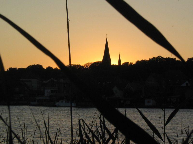 Sonnenuntergang in Malchow