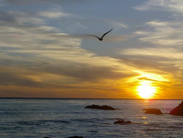 Sonnenuntergang in Malibu