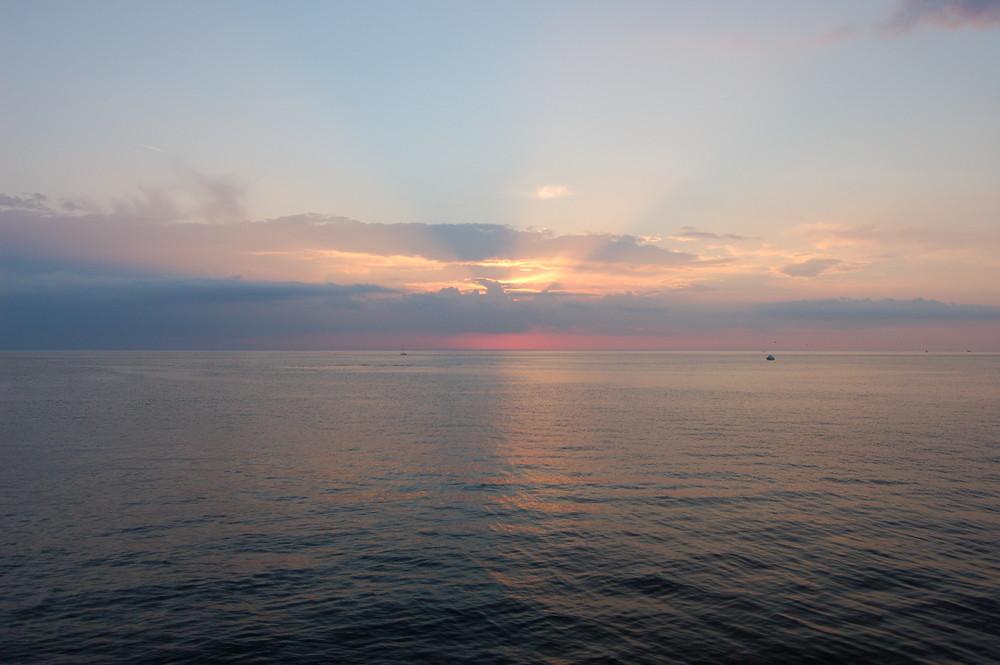 Sonnenuntergang in Malmö