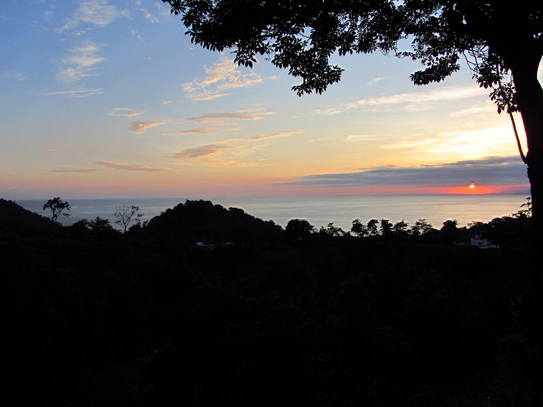 Sonnenuntergang in Manuel Antonio