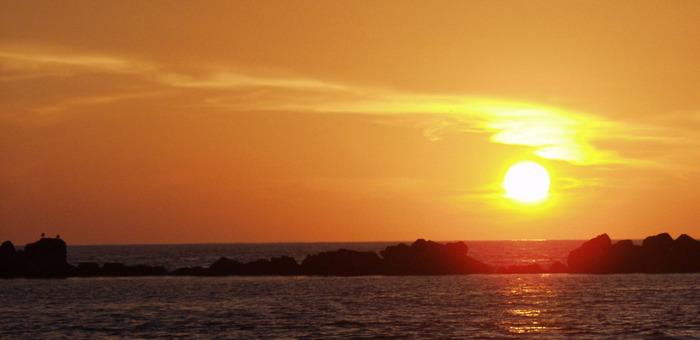 Sonnenuntergang in Marokko (von Dieter)