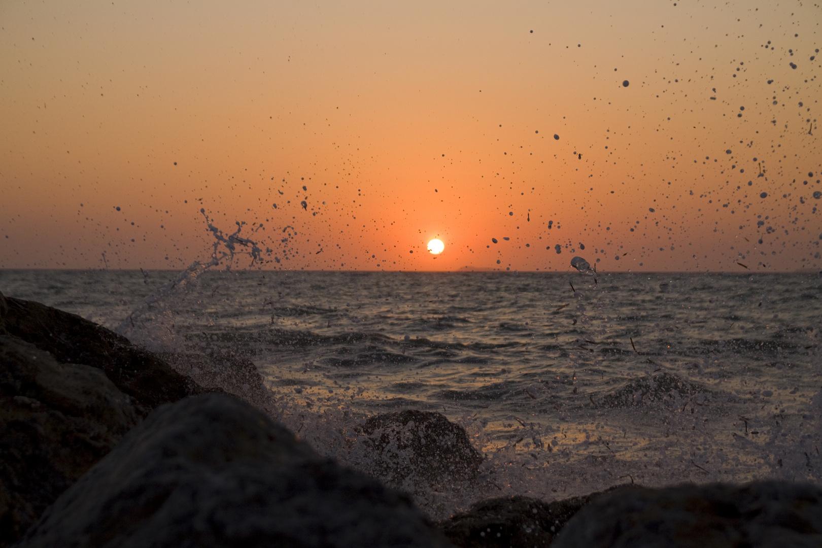 Sonnenuntergang in Mastichari (Kos)
