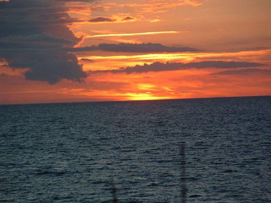 Sonnenuntergang in McPom