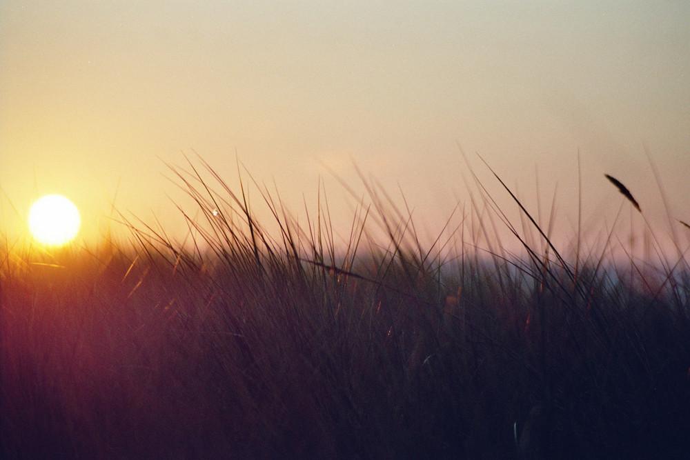 Sonnenuntergang in Meck.- Pomm.