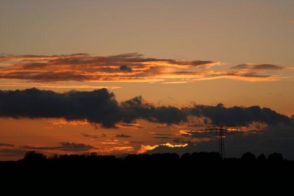 Sonnenuntergang in MV