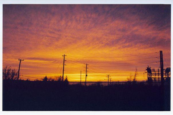 Sonnenuntergang in Newfoundland (St.Johns