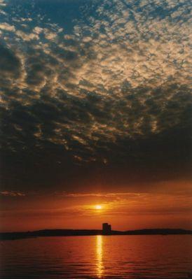 Sonnenuntergang in Niendorf/Timmendorferstrand