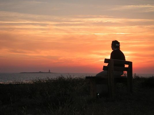 Sonnenuntergang in Noirmoutier