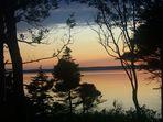 Sonnenuntergang in Nova Scota